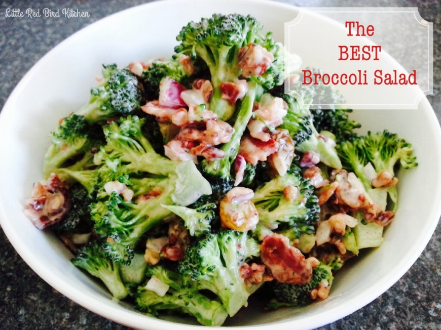 The BEST Broccoli Salad | Little Red Bird Kitchen